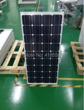 solar battery 200w sun panel 18v 100w 2pcs monocrystalline solar panel mono solar cell 156*156mm