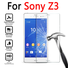 Buy Tempered Glass Sony Xperia Z3 D6603 D6653 Premium Screen Protector Films 2.5D 9H Sony Z 3 Protective Glass Film case for $1.27 in AliExpress store