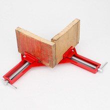 1PC Rugged 90 Angle Clip Corner Clamps Quick Fixed Fishtank Glass Wood Picture Frame Red Right Angle for Woodworking