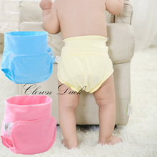 Reusable Baby Nappies Cloth Diapers Newborn Washable Cloth Diapers For Children Bamboo Reusable Baby Diapers Infant Nappy Cloth(China)