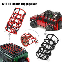 New D90 SCX10 90046 Traxxas TRX-4 1/10 RC Elastic Top Holder Luggage Net RC Car Truck Accessories Car Roof Rubber Band(China)