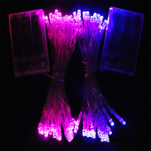 5M 50 LED Battery Operated LED String Lights Fairy String Garland for Xmas Party Wedding Festival Wedding Decoration Christmas