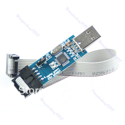 1pc USB ISP Programmer For ATMEL AVR ATMega ATTiny 51 Development Board(China (Mainland))