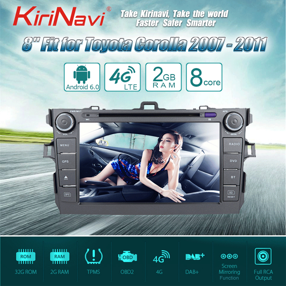 touch screen radio for toyota corolla car dvd player (1)