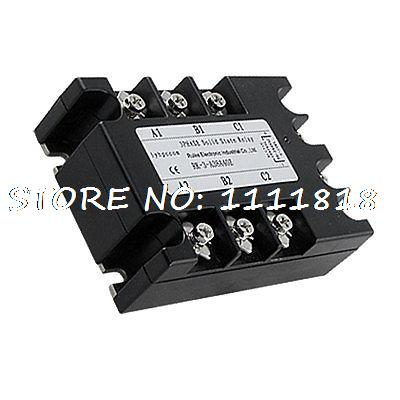 SSR-40AA 3 Phase AC to AC SSR Solid State Relay 40A 90-280VAC / 380V AC<br>