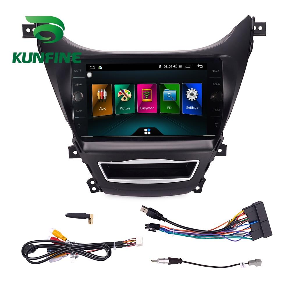 Android Car DVD GPS Navigation Multimedia Player Car Stereo For Hyundai Elantra 2012 Radio Head unit (16)