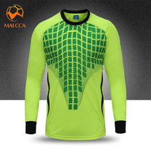 2017 New Kids Survetement Football Training Jerseys Soccer Boys Goalkeeper Shirts Maillot De Foot Futbol Doorkeeper Kits