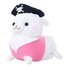 1pc 30cm Lovely Pirate Sheep Plush Toy Staffed Creative Alpaca Plush Doll Birthday Gift(China)