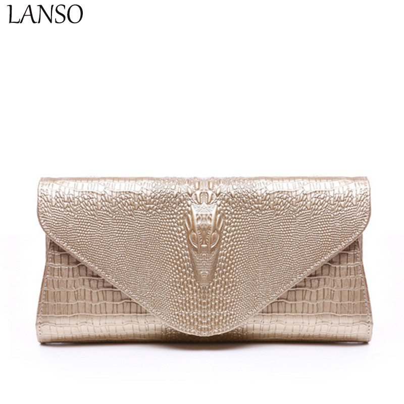2017 Spring Purses Holders Brand Genuine Leather 3D Embossing Alligator Ladies Crocodile Casual Bags Wallets Women Day Clutch <br>