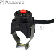 "PAZOMA Motorbike ATV Kill Stop Switch Push Button For Honda & Chinese ATV Dirt Pit Bike Scooter With 7/8"" Handlebar"