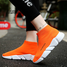 Plus Size 35-45 인기있는 Young Women Boots 패션 숨 봄 및 Summer Brand Sneaker 편안한 빛 Casual Shoes(China)