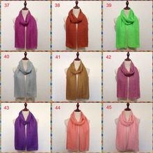 106 colors very charm fashion hijab head plain viscose scarf muslim cheap 90*180cm can choose colors