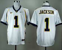 2016 Nike California Golden Bears DeSean Jackson 1 Jerseys White College Ice Hockey Jerseys M,L,XL,XXL,3XL(China)