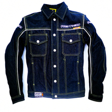 Denim free-yogin automobile race clothing motorcycle clothing  wear hornier flanchard