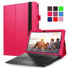 "For Lenovo MIIX 310 10.1"" Tablet pu leather protective cover case guard,can use with keyboard(China)"