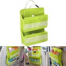 Buy New Qualified Storage Car Back Seat Tidy Multi Pocket Hanging Storage Bag Organiser Auto Travel Holder Levert Dropship dig6413 for $7.84 in AliExpress store