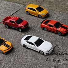 1:64 Alloy car model kids toys Sports car suit Ford series 5pcs F150 GT ST Ford Mustang Children like the gift worth collecting