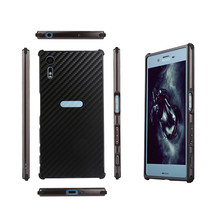Buy Sony Xperia XZ F8331 Dual F8332 Case Aluminum Metal Frame Carbon Fiber Hard Cover Case Sony Xperia XZ F8331 F8332 for $8.00 in AliExpress store