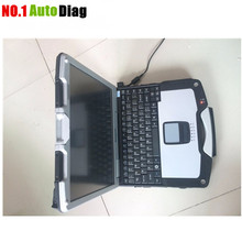 Hot sale Top High Quality Toughbook CF30 laptop with 500G HDD/4G RAM/Win7 Enlgish CF 30 CF-30 for bmw icom a2,a3, mb star c3,c4