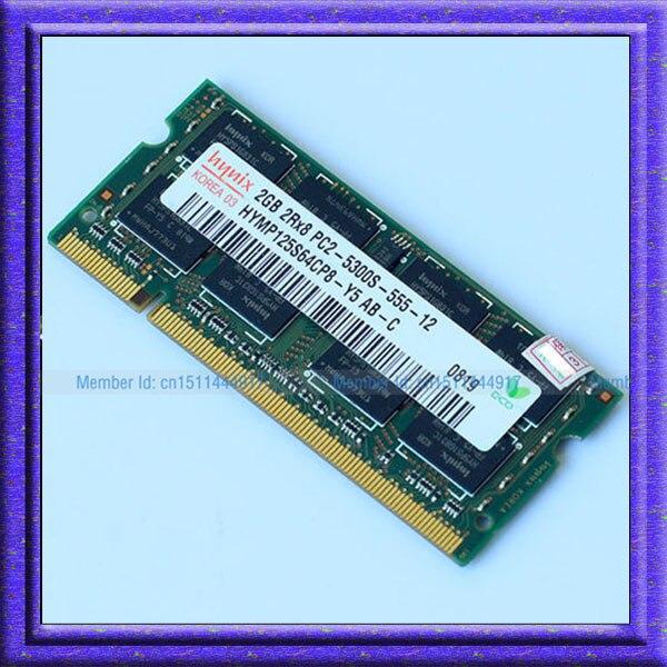 Hynix 2GB PC2-5300S DDR2-667 667Mhz 200pin DDR2 Laptop Memory 2G pc2 5300 667 Notebook Module SODIMM RAM Free Shipping<br><br>Aliexpress