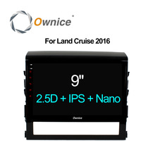 Ownice C500+ android 6.0 octa core car dvd player for Toyota land cruiser 2016 gps radio 4G LTE IPS 2.5D Nano Screen dab+ 32g(China)