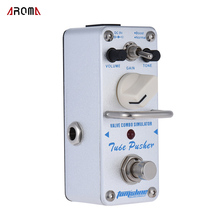 AROMA ATP-3 Tube Pusher Valve Combo Simulator Electric Guitar Effect Pedal Mini Single Guitarra Effect Pedal with True Bypass(China)
