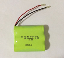 10PACK/LOT Brand New Ni-MH AA 3.6V 1800mAh Ni MH Rechargeable Battery Pack With Plugs For Cordless Phone Batteries