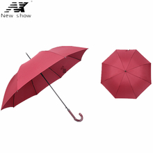 NX creative large golf umbrella man and women business windproof outdoor Ultra-light rain and sun Hooks long umbrella