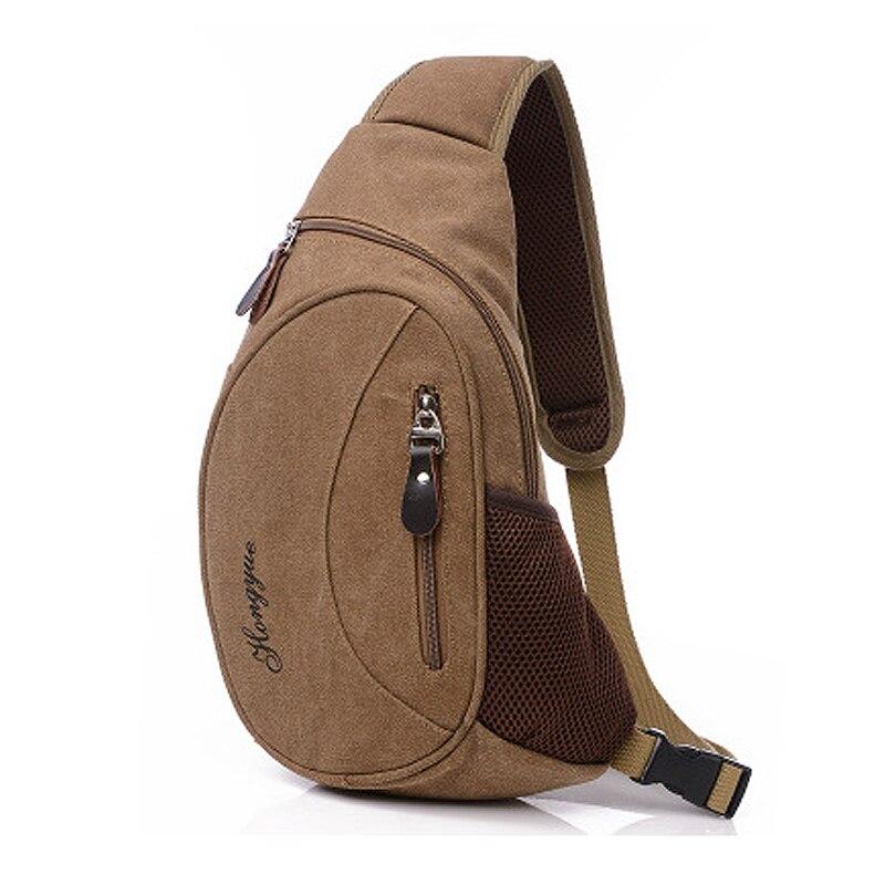 2017 New Arrival Canvas Men Cross Chest Bag Pack Male Crossbody Shoulder Sling Bag Leisure Canvas Travel Messenger Bags JXY470<br><br>Aliexpress