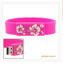 Cartoon wrist band  USB Flash Drive Pen Drive 64GB Pendrive USB 2.0 Memory Stick U Disk 32GB 16GB 8GB 4GB USB