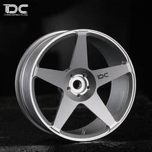 Buy DC RC 1:10 ROC WHEEL OFFSET +6 SILVER EP 1:10 RC CARS DRIFT ON ROAD RWD AWD DC-90243, 4PCS for $41.40 in AliExpress store