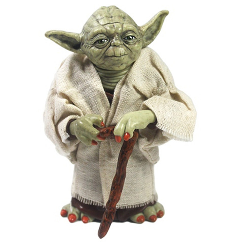 Hot Movie Star Wars Master Yoda Figure Classic Toys for Children ABS Action Figures Kids Brinquedos Collection Model Dolls Gift<br><br>Aliexpress