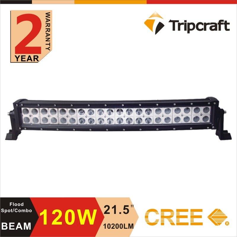 Double rows curved led light 21.5inch 120W LED Light Bar Spot/Flood for Truck Ute Car SUV ATV Work Light Bar 4WD 12V 24V Offroad<br><br>Aliexpress