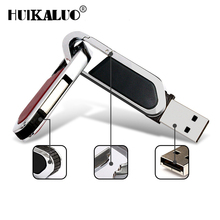 Metal Key Ring 64gb 32gb Stainless Steel USB Flash Drive 4gb Pen Drive 8gb 16gb Flash Drive USB 2.0 Memory Stick Pendrive