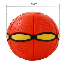 2017 The New UFO Ball Step Ball Vent Ball Frisbee Ball Deformation Outdoor Toys Children's Christmas Gift(China)