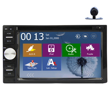 Autoradio Navigator Head Unit AMP Movie Map PC Logo Radio GPS Stereo Sub MP4 Touchscreen Music MP5 Car DVD Player(China)