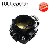 WLRING Free SHIPPING- NEW THROTTLE BODY FOR RSX DC5 CIVIC SI EP3 K20 K20A 70MM CNC INTAKE THROTTLE BODY PERFORMANCE WLR6951
