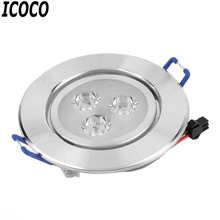 ICOCO 2017 Hot Sale 3W LED Optimized Design Recessed Ceiling Downlight Spot Lamp Bulb Light Driver Anti-rust And Anti- Corrosion