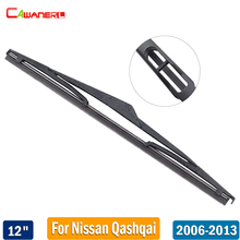 "Cawanerl 12"" Car Back Windscreen Wiper Blade Rubber Rear Window Wiper For Nissan Qashqai 2006 2007 2008 2009 2010 2011 2012 2013"
