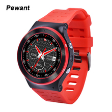 Pewant 3G Smart Watch Android 5.1 2.0MP HD Camera GPS WiFi Pedometer Heart Rate Wristwatch With Google Voice For Android Phone