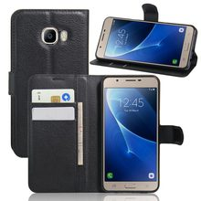 TUKE For Samsung Galaxy C5 Case Cover Samsung C5 PU Leather Flip Wallet Case for Samsung C5000 Phone Coque Hoesjes