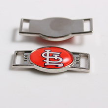 St. Louis Cardinals MLB Baseball Team Logo Oval Shoelace Charms For Sport Shoes And Paracord Bracelets Jewelry Decoration 6pcs