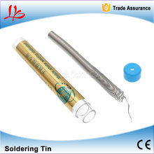 0.3/0.4/0.5/0.8/1.0mm Low Melting Point Small Roll Solder tin Leaded Welding Wire Soldering tin for Mobile Repair 3pcs/lot(China)