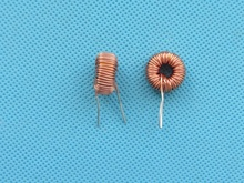 10pcs/lot Naked 100UH 6A Toroidal inductor Winding Inductance Magnetic Ring Inductance