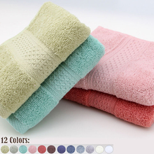 International trade best selling NO.1 100% cotton Authentic Solid cute Candy colors baby towel Infant kitchen bathroom special(China)
