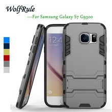 sFor Phone Case Samsung Galaxy S7 Cover Silicone & Plastic Case For Samsung Galaxy S7 Case G9300 For Samsung S7 Holder Funda<