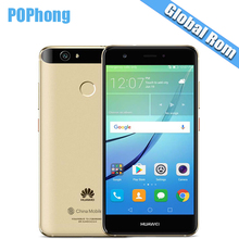 International ROM Huawei Nova 3GB/4GB RAM 32GB/64GB ROM 5.0 inch Dual SIM Mobile Phone MSM8953 Octa Core Android 8.0MP+12.0MP S(China)