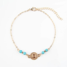 Quality Simplicity European Style Women's Round Cake Beads Multi-Element Combination Bracelets Fashion Trend Jewelry  L288