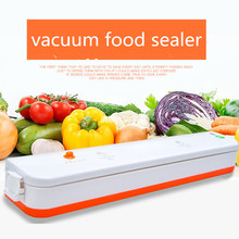 Vacuum Sealer 160W Automatic Food Packing Machine with Starter Kit bags Best for Household Food Saver Dry & Moist(China)