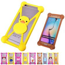Minions Anti knock TPU Cell Phones Cases For BLU Studio 5.0 II Advance 4.0 Rubber Minnie Garfield 3D Case Cover For BLU Life Pro